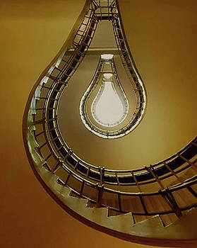 Light Bulb Staircase by John Kearns