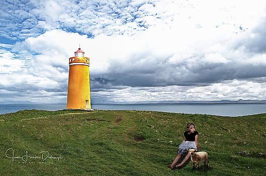 Light house by Jean-Louis Delhaye