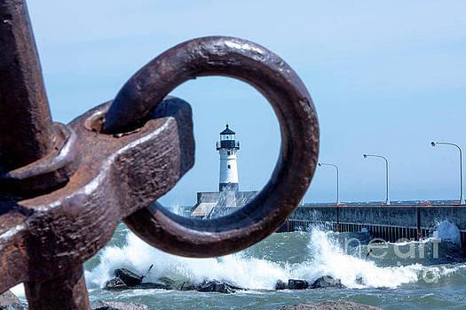Lighthouse Thru The Hole by Tina Hailey