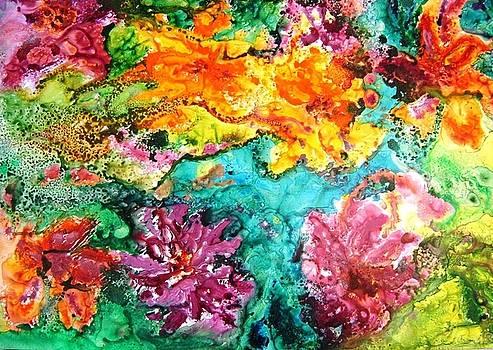 Lily Pond by Fatima Pardhan