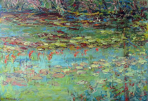 Lily Pond by Liudvikas Daugirdas