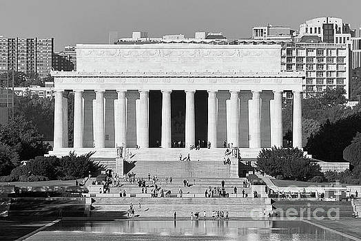 Lincoln Memorial and Reflecting Pool Washington DC by Kimberly Blom-Roemer