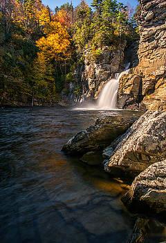 Linnville Falls by Reid Northrup