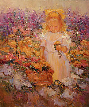 Little Flower Girl by Diane Leonard