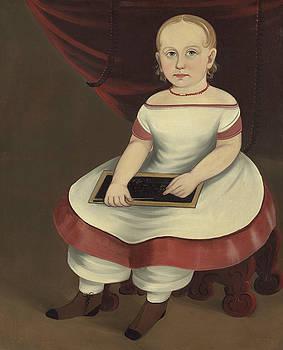 Prior Hamblin School - Little Girl with Slate