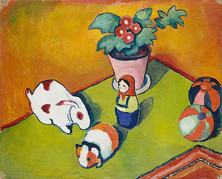 August Macke - Little Walter