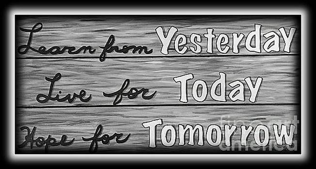 Live For Today by Barbara Griffin