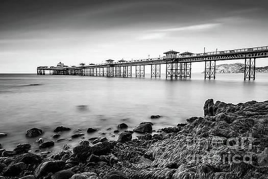 Llandudno Pier by Adrian Evans