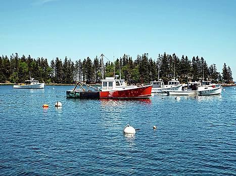 Lobster By Night - Sleep By Day, Camden, Maine by Joseph Hendrix