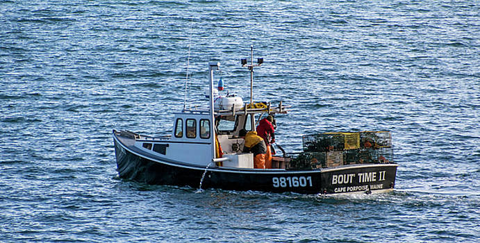 Lobstermen at Work by Trace Kittrell