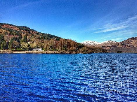 Loch Lomond at Tarbet by Joan-Violet Stretch