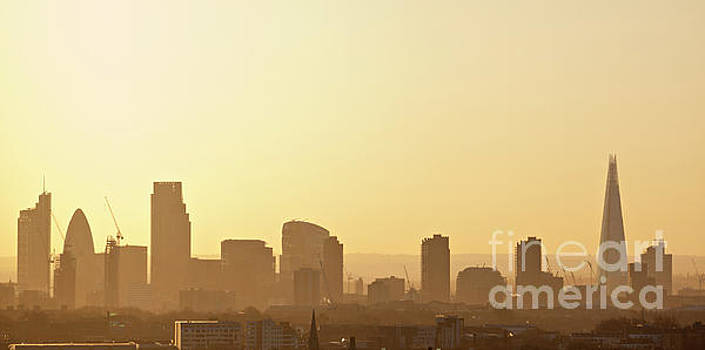 London Skyline by David Bleeker