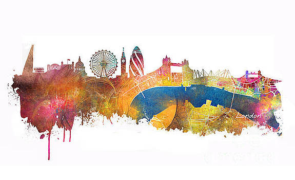 Justyna Jaszke JBJart - London skyline