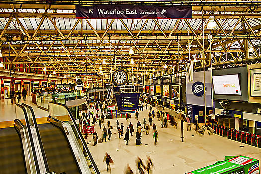 David French - London Waterloo Station