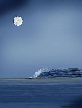 Looking at the Moon by Anne Norskog