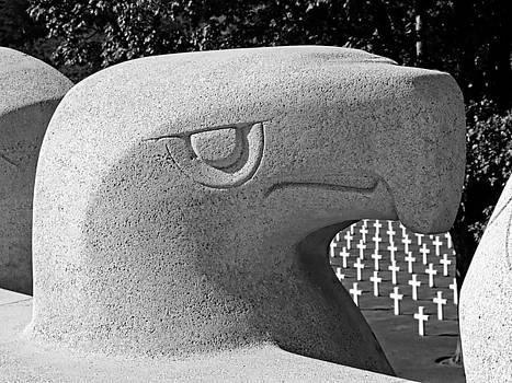 Lorraine WWII American Memorial Cemetery - St Avold, France by Joseph Hendrix
