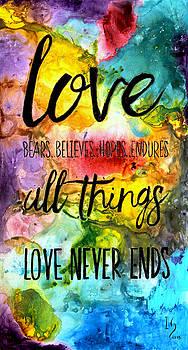 Love Bears Believes Hopes by Ivan Guaderrama