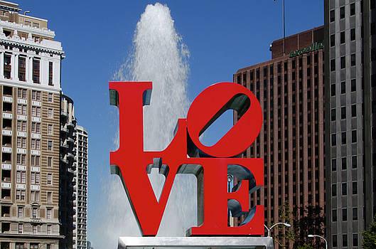 Love - Philadelphia by Bill Cannon