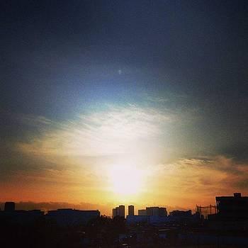 #love_all_sky #sky #sunset #sunsets by Bow Sanpo