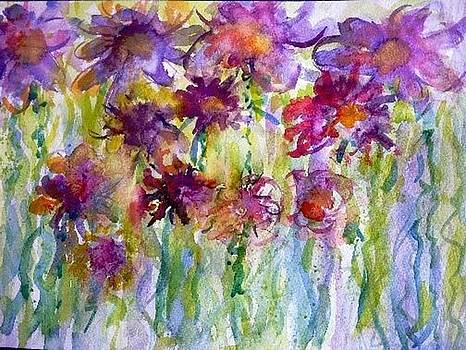 Lovely Flowers by Donna Eaton
