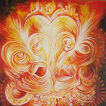 Lovers by Yenaye Rene Mkerka