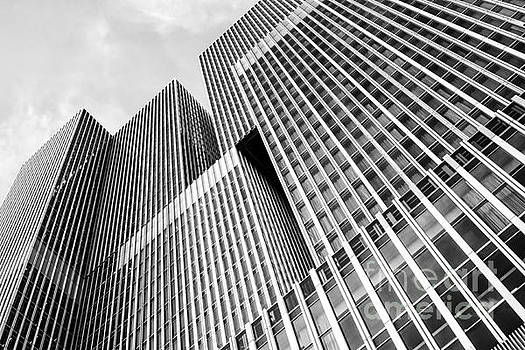 Patricia Hofmeester - Low angle view of a huge skyscraper