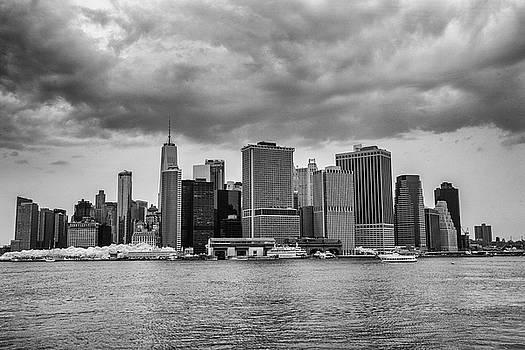 Lower Manhattan by John Dryzga