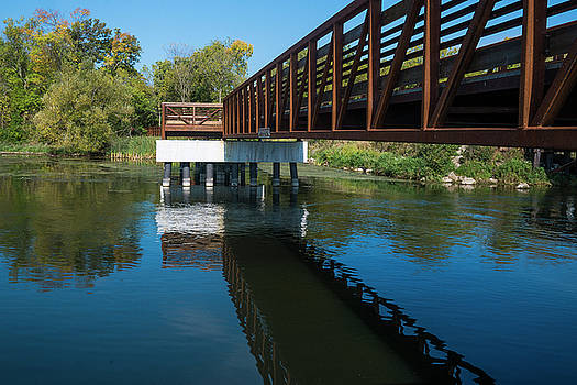 Lower Yahara River Trail 3- Madison - Wisconsin by Steven Ralser