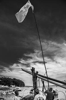 Lowering the Flag by Paul Donohoe