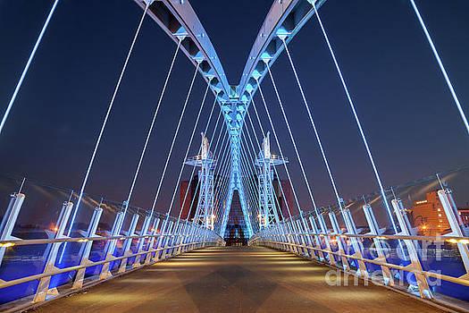 Lowry Bridge, Salford Quays by Martin Williams