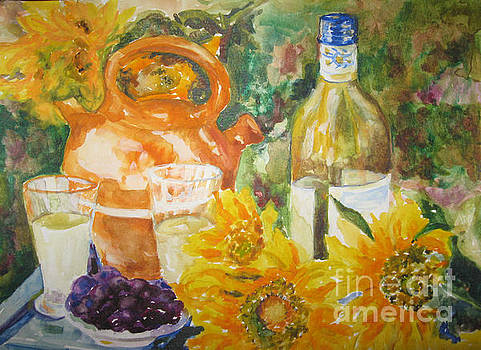 Lunch in Provence by Lisa Boyd