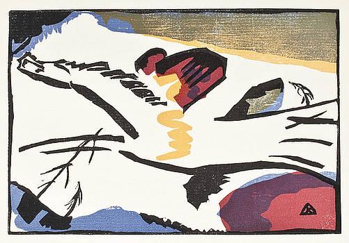 Lyrisches  by Vassily Kandinsky