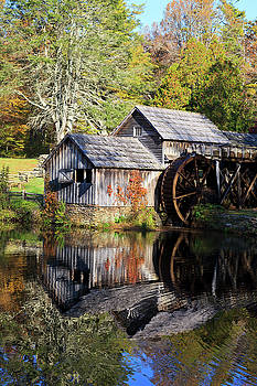 Jill Lang - Mabry Mill Reflections