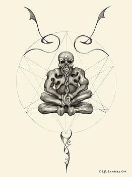 Macabre Meditation by J P Lambert