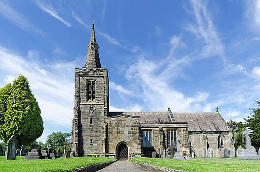 Mackworth church by Steev Stamford