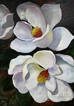 Magnolias by Barbara Haviland