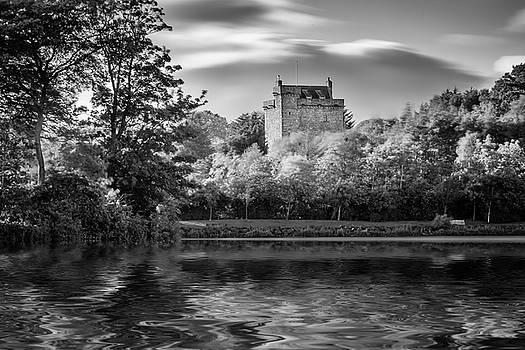 Reflection Mains Castle East Kilbride, Scotland by Alex Saunders