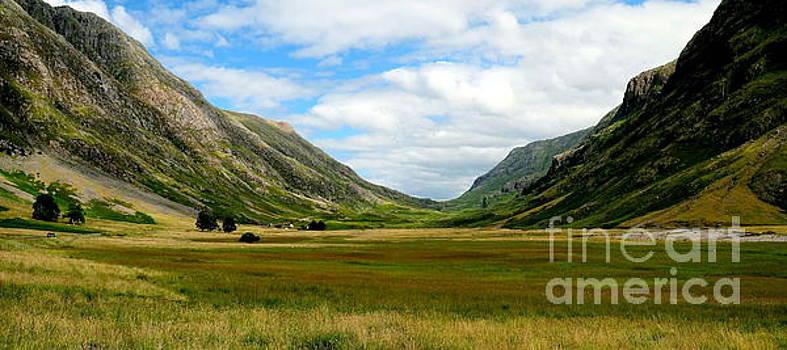 Majestic Glen Coe by John Chatterley