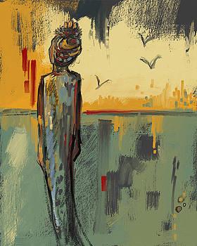 Malaika Angel by Kathryn Delany