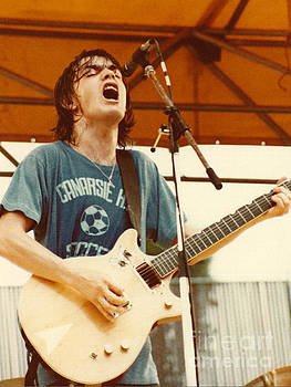 Malcolm Young of AC DC at Day On The Green - July 1979 by Daniel Larsen