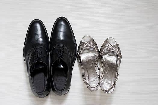 Newnow Photography By Vera Cepic - Male and female wedding shoes