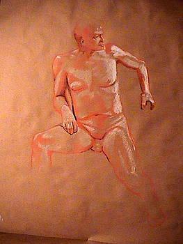 Male Figure Study by Kerry Burch