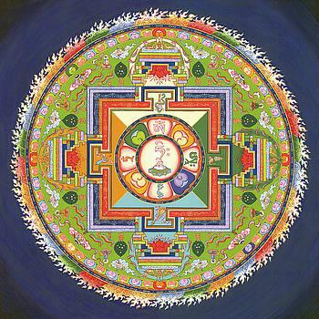 Mandala of Avalokiteshvara           by Carmen Mensink