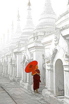 Dennis Cox WorldViews - Mandalay Monk