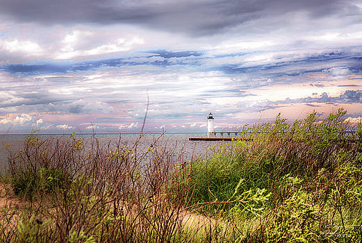 Manistee Lighthouse by J Thomas
