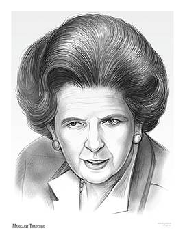 Margaret Thatcher by Greg Joens