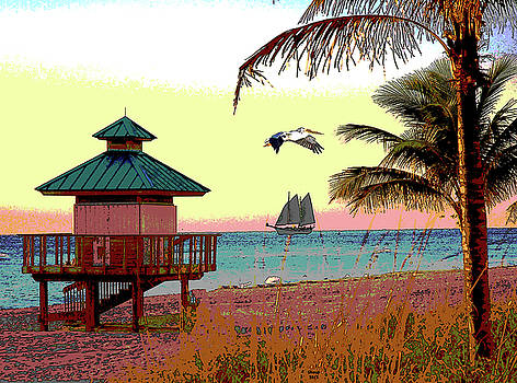 Margaritaville by Charles Shoup