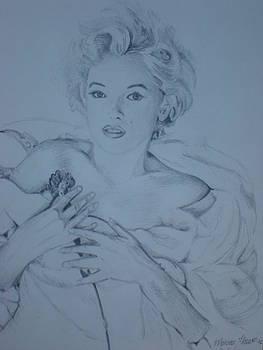 Marilyn Monroe by Jorge Luis  Iniguez