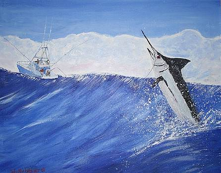 Bill Hubbard - Marlin on Line