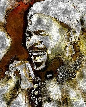Marvin Gaye by Lynda Payton
